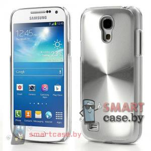 Чехол для Samsung Galaxy S4 mini Metal CD алюминий (Металлик)