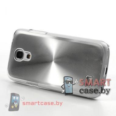 Чехол для Samsung Galaxy S4 mini Metal CD алюминий (Металлик)