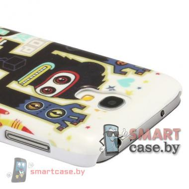 Чехол для Samsung Galaxy S4 mini пластиковый (африка_3)