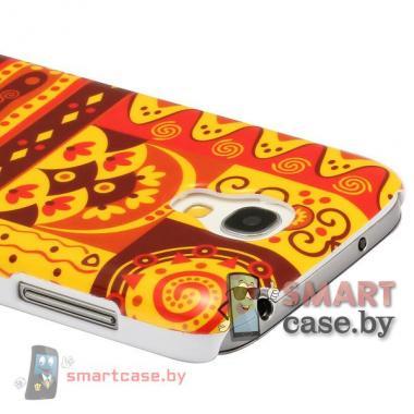 Чехол для Samsung Galaxy S4 mini пластиковый (африка_1)