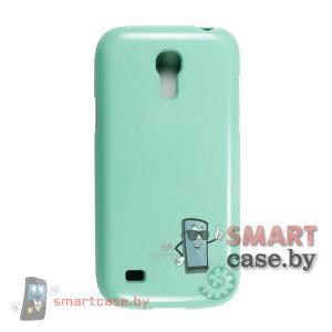 Чехол для Samsung Galaxy S4 mini силиконовый Mercury (мятный глянец)