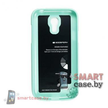 Чехол для Samsung Galaxy S4 mini силиконовый Mercury (мятныйй глянец)