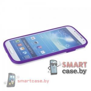 Бампер для Samsung Galaxy S4 Griffin силикон+пластик (фиолетовый)