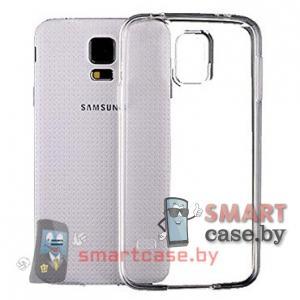 Силиконовый чехол для Samsung Galaxy S5 mini ультратонкий 0,5мм (прозрачный)