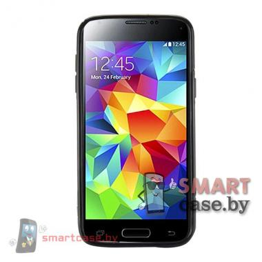 Чехол для Samsung Galaxy S5 mini силиконовый (черный)