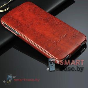 Чехол для Samsung Galaxy S5 Oil Wax (коричневый)