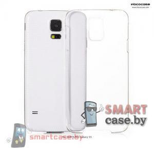 Чехол накладка для Samsung Galaxy S5 ультра тонкий HOCO (прозрачный)