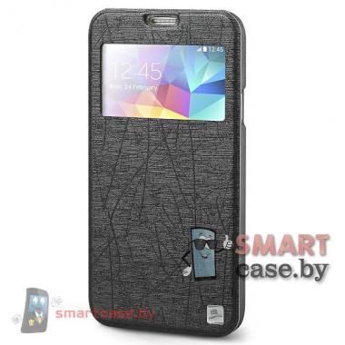 Чехол с окном для Samsung Galaxy S5 TakeFans (черный)