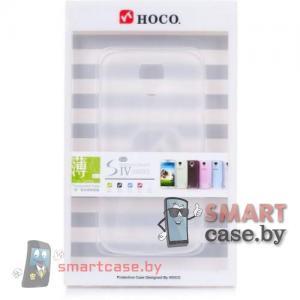 Ультратонкий бампер для  Samsung Galaxy S4 HOCO (прозрачный)
