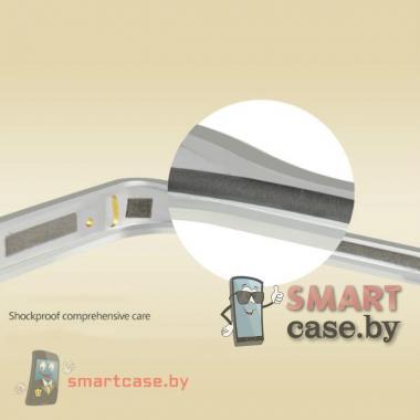 Бампер для Samsung Galaxy S6 Edge алюминиевый Love Mei (золото)