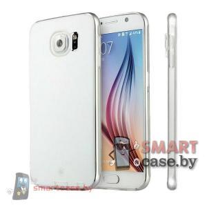 Чехол-накладка для Samsung Galaxy S6 силиконовый от Baseus (прозрачный)