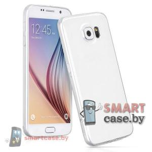 Чехол-накладка для Samsung Galaxy S6 от HOCO силиконовый (серебро)