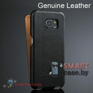 Кожаный чехол-блокнот для Samsung Galaxy S6