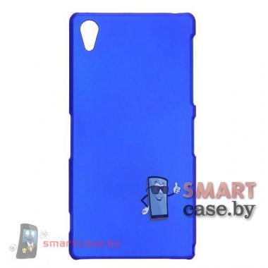 Чехол для Sony Xperia Z2 матовый (синий)