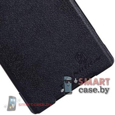 Чехол для Sony Xperia Z2 кожаный Nillkin (черный)