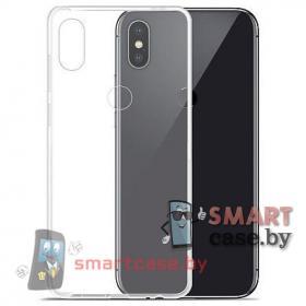 Чехол для Xiaomi Mi 8 прозрачный силиконовый