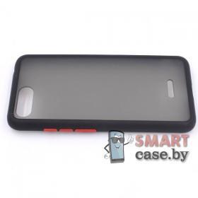 Силиконовый противоударный чехол для Xiaomi Redmi 6A (Чёрный)