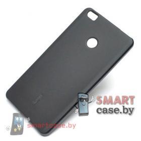 Силиконовый чехол для Xiaomi Mi Max 2 Cherry + пленка (черный)