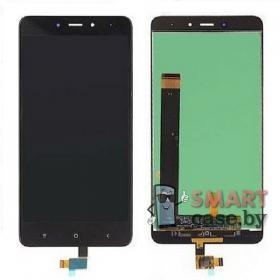 Дисплей для Xiaomi Redmi Note 4 + тачскрин (чёрный)