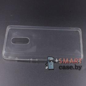 Силиконовый чехол для Xiaomi Redmi Note 4/4X (прозрачный противоударный)