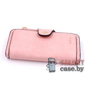 Кошелек, портмоне, клатч Baellerry Pu-кожа (розовый)