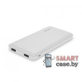 Внешний аккумулятор Deji DJ-210, 10000 mAh, 2.1A (Белый)