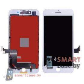Дисплейный модуль для iPhone 7 Plus + тачскрин белый с рамкой AAA (copy LCD)