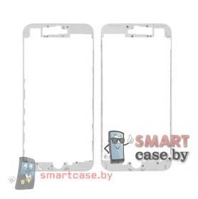 Рамка дисплея для iPhone 7 Plus + клей (белый) OEM