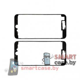 Рамка дисплея для iPhone 7 Plus + клей (черный) OEM