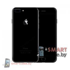 Задняя крышка, корпус для iPhone 7 Plus ААА (черный оникс)