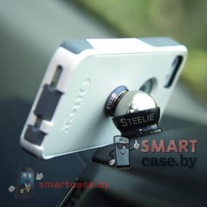Магнитный автомобильный держатель для телефона Steelie