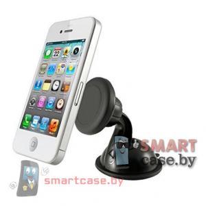 Магнитный держатель для телефона на стекло, поворотный Stent