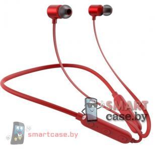 Беспроводные (блютуз) наушники Zarmans Sport Z-X1 (красный)