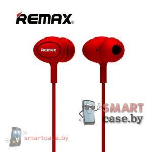 Наушники Remax 515 с гарнитурой (красные)