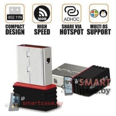 Беспроводной адаптор USB - Wi-Fi 802.IIN 300 Mbps