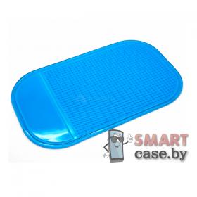 Коврик для телефона в автомобиль 13.5 см*7.5 см (Синий)