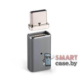 Переходник, адаптер OTG Micro USB на Type-C магнитный